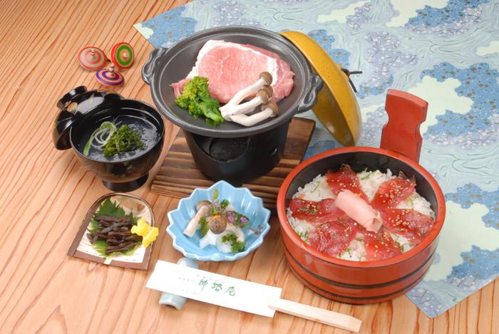 三重県産豚陶板焼膳